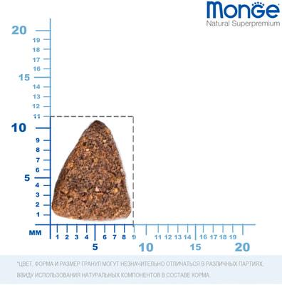 Сухой корм Monge Dog Monoprotein Mini Adult Lamb (ягненок, рис и картофель) (фото, вид 2)