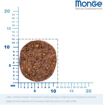 Сухой корм Monge Dog Monoprotein Puppy & Junior Salmone (лосось и рис) (фото, вид 2)