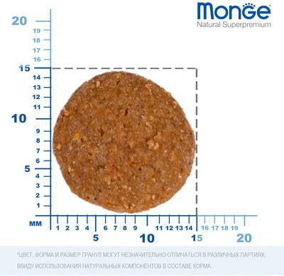 Сухой корм Monge Dog Monoprotein Pork (свинина, рис и картофель) (фото, вид 2)