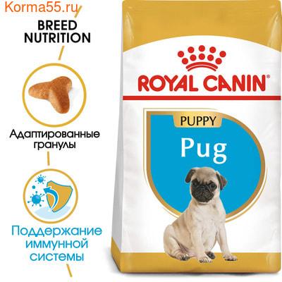 Сухой корм Royal canin PUG PUPPY (фото, вид 2)