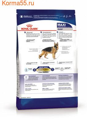 Сухой корм Royal canin MAXI ADULT (фото, вид 1)