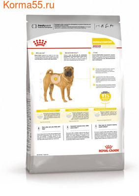 Сухой корм Royal canin MEDIUM DERMACOMFORT (фото, вид 1)