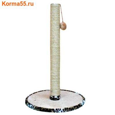 Когтеточка Столбик (круглое основание) 100см №018 (фото, вид 1)