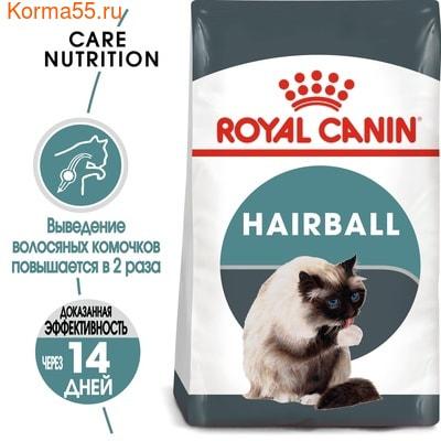 Сухой корм Royal canin HAIRBALL CARE (фото, вид 2)