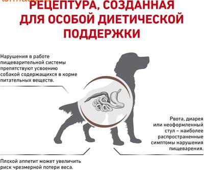 Сухой корм Royal canin GASTRO INTESTINAL GI 25 CANINE (фото, вид 2)