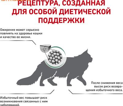 Сухой корм Royal canin SATIETY WEIGHT MANAGEMENT SAT 34 FELINE (фото, вид 2)