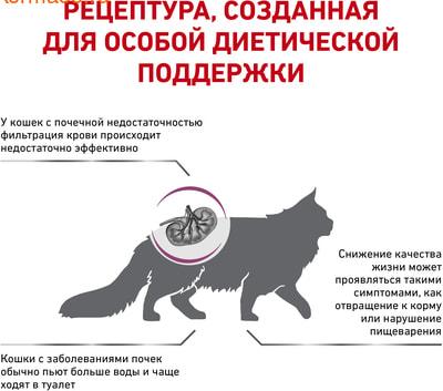 Сухой корм Royal canin RENAL SPECIAL RSF 26 FELINE (фото, вид 2)