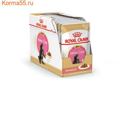 Влажный корм Royal Canin MAINE COON KITTEN (В СОУСЕ) (фото, вид 1)