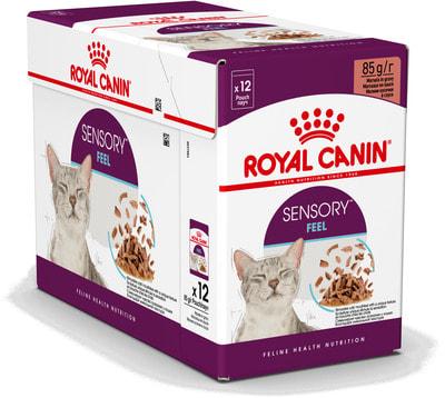 Влажный корм Royal canin Sensory ощущения (в соусе) (фото, вид 2)