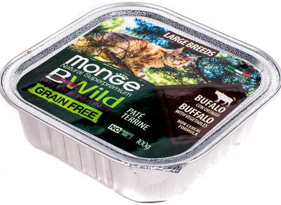 Влажный корм Monge BWild Cat Grain Free (буйвол и овощи) (фото, вид 3)