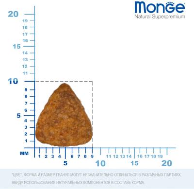Сухой корм Monge Cat Monoprotein Sterilised Beef (говядина) (фото, вид 5)