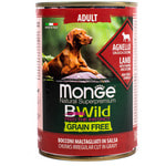 Влажный корм MONGE DOG BWILD, ягненок, тыква и овощи. Вид 2