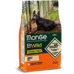 Сухой корм Monge Dog BWild GRAIN FREE Mini Anatra (утка и картофель). Вид 2