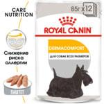 Влажный корм Royal Canin DERMACOMFORT POUCH LOAF (В ПАШТЕТЕ). Вид 2
