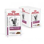 Влажный корм Royal canin RENAL C ГОВЯДИНОЙ пауч. Вид 2