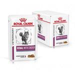 Влажный корм Royal canin RENAL C КУРИЦЕЙ пауч. Вид 2