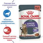 Влажный корм Royal Canin Appetite Control Care (в соусе). Вид 2