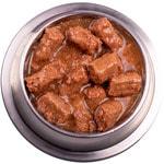 Влажный корм GEMON DOG MAXI кусочки с говядиной и рисом. Вид 2