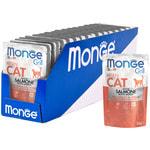 Влажный корм Monge GRILL для котят с лососем. Вид 2