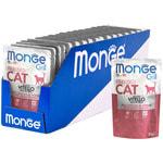 Влажный корм Monge GRILL для кошек с телятиной. Вид 2
