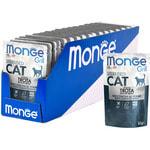Влажный корм Monge GRILL для кошек с форелью. Вид 2