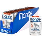 Влажный корм Monge Monoprotein для кошек с индейкой. Вид 2