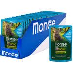 Влажный корм Monge Cat BWild Grain Free (из анчоусов с овощами). Вид 2