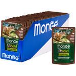 Влажный корм Monge Cat BWild Grain Free (из мяса буйвола с овощами). Вид 2