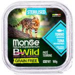 Влажный корм Monge BWild Cat Grain для стерилизованных кошек (тунец с овощами). Вид 2