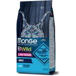 Сухой корм Monge Cat BWild LOW GRAIN Anchovies (анчоусы). Вид 2