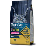 Сухой корм Monge Cat BWild LOW GRAIN Hare (заяц). Вид 2