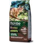 Сухой корм Monge Cat BWild GRAIN FREE Buffalo (буйвол). Вид 2