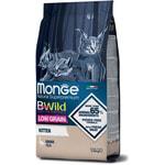 Сухой корм Monge Cat BWild LOW GRAIN Kitten (гусь). Вид 2
