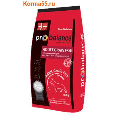 Сухой корм ProBalance Adult Grain Free
