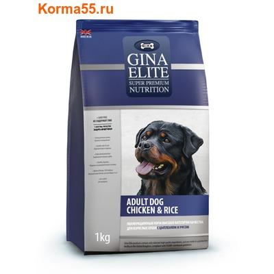 Gina Elite Adult Dog Chicken & Rice (Великобритания) (фото)