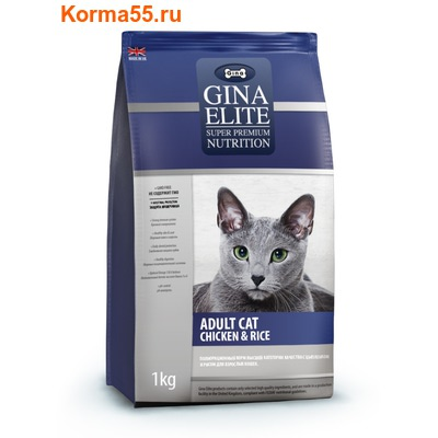 Gina Elite Adult Chicken & Rice (Великобритания)