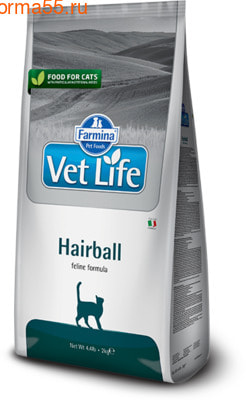 Сухой корм Farmina Vet Life Cat Hairball