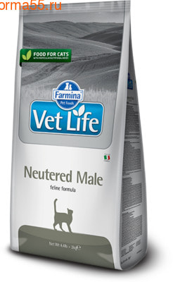 Сухой корм Farmina Vet Life Cat Neutered Male (фото)