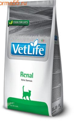Сухой корм Farmina Vet Life Cat Renal (фото)