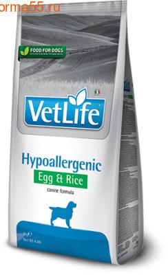 Farmina Vet Life Dog Hypoallergenic Egg & Rice (фото)