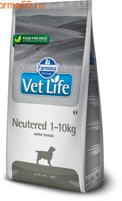 Farmina Vet Life Dog Neutered 1-10kg (фото)