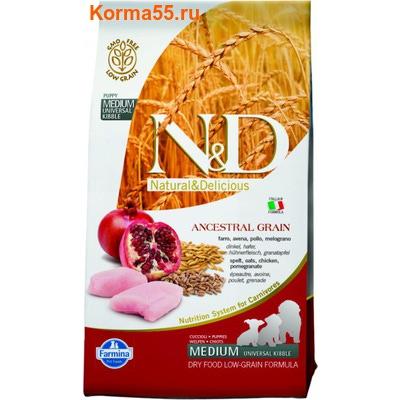 Farmina N&D Low Grain Chicken & Pomegranate Puppy