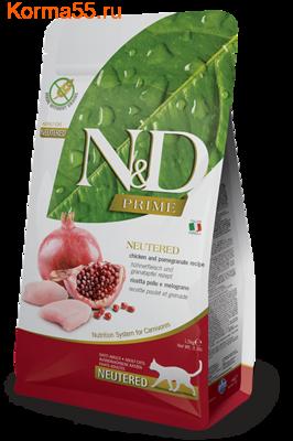 Сухой корм Farmina N&D Cat Chicken & Pomegranate Neutered (фото)