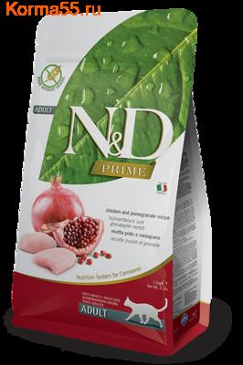 Сухой корм Farmina N&D Cat Chicken & Pomegranate Adult (фото)