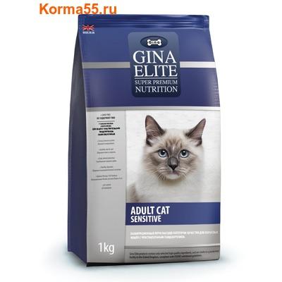 Gina Elite Adult Cat Sensitive (Великобритания) (фото)