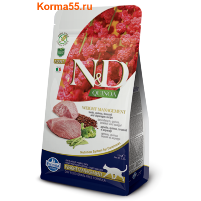 Сухой корм Farmina N&D Cat Quinoa Digestion Lamb