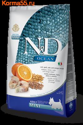 Farmina N&D Low Grain Dog Cod, Spelt, Oats & Orange Adult Mini