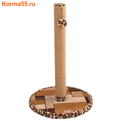 Когтеточка Столбик (круглое основание) 100см №018 (фото)