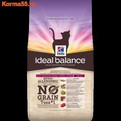 Сухой корм Hill's Ideal Balance No Grain (тунец, картофель)
