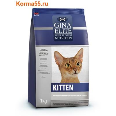 Сухой корм Gina Elite Kitten (Великобритания) (фото)